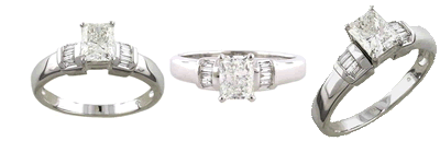 An engagement ring for 73% off