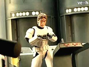 Robot Chicken Star Wars - Han Solo