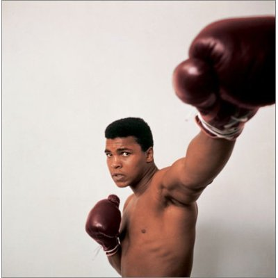 Muhammad Ali from the book GOAT by Jeff Koons