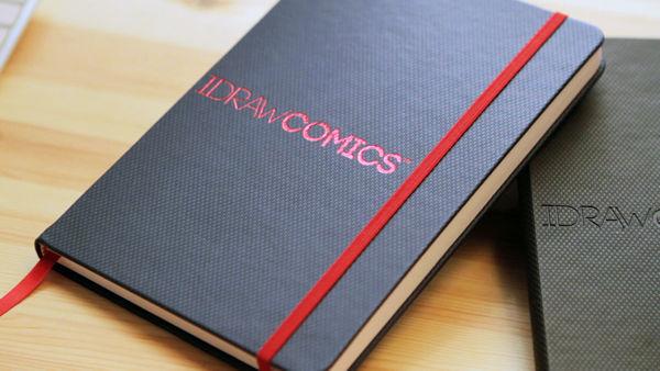I DRAW COMICS book exterior