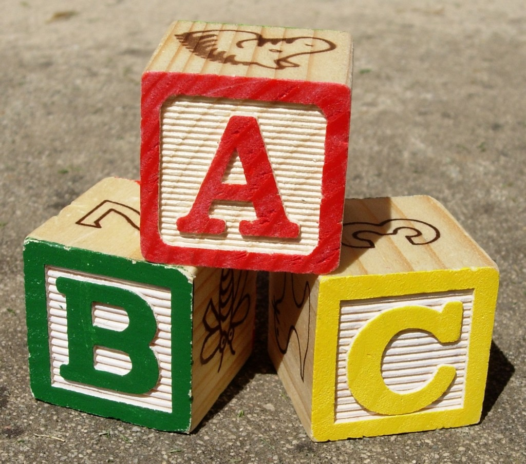 ABC Blocks by Rohan Baumann